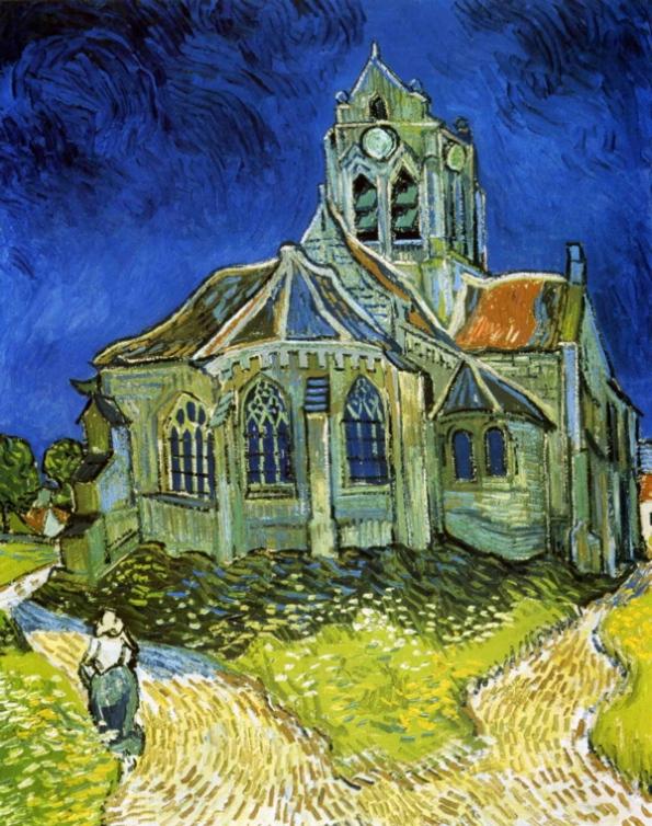 biserica de van gogh