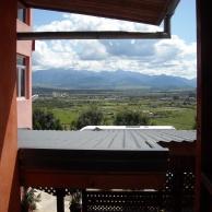 Pensiunea dlui Cornea vila CORA panorama spre M Retezt