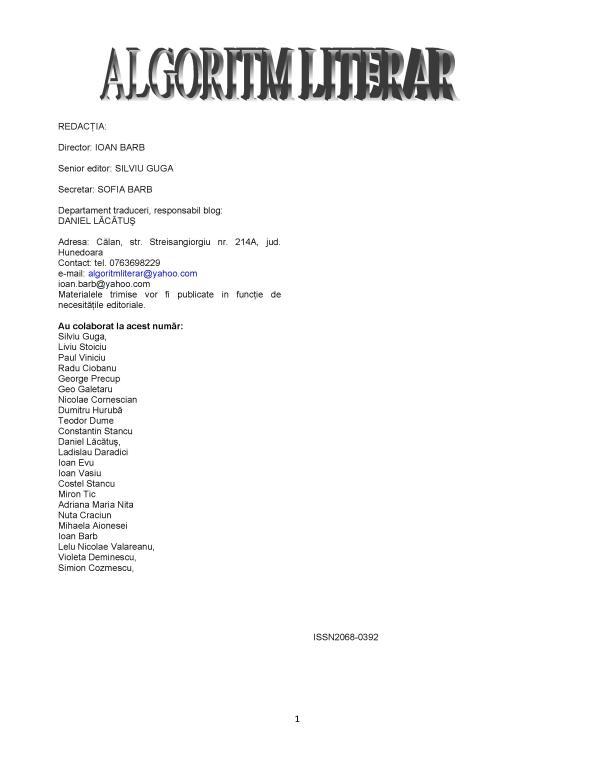 ALGORITM 8
