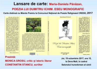 Afis eseu Ichim Daniela Panazan