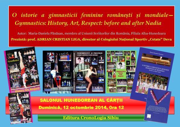 Afis Istoria gimnasticii