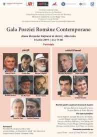Gala poeziei 2019, afiș